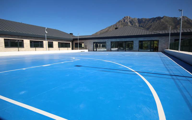 proyecto pista baloncesto