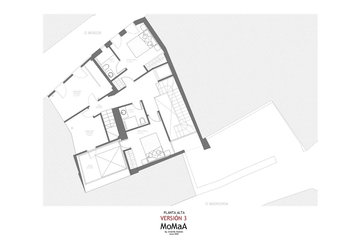 planta-primera-casco-histórico-marbella